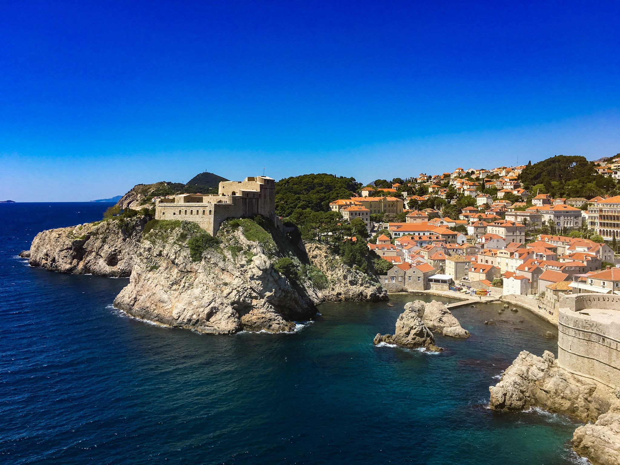 8. Dubrovnik Coastline