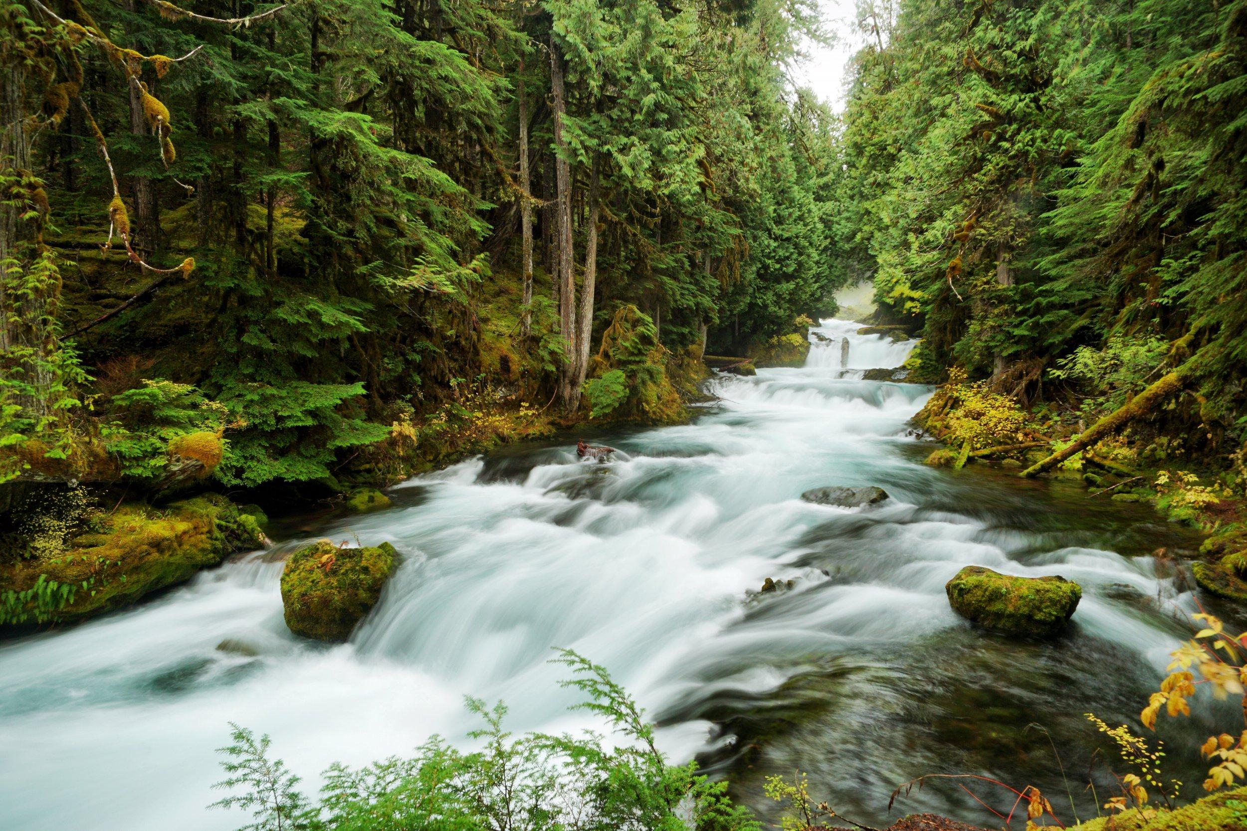 2. Sahalie Falls in Oregon