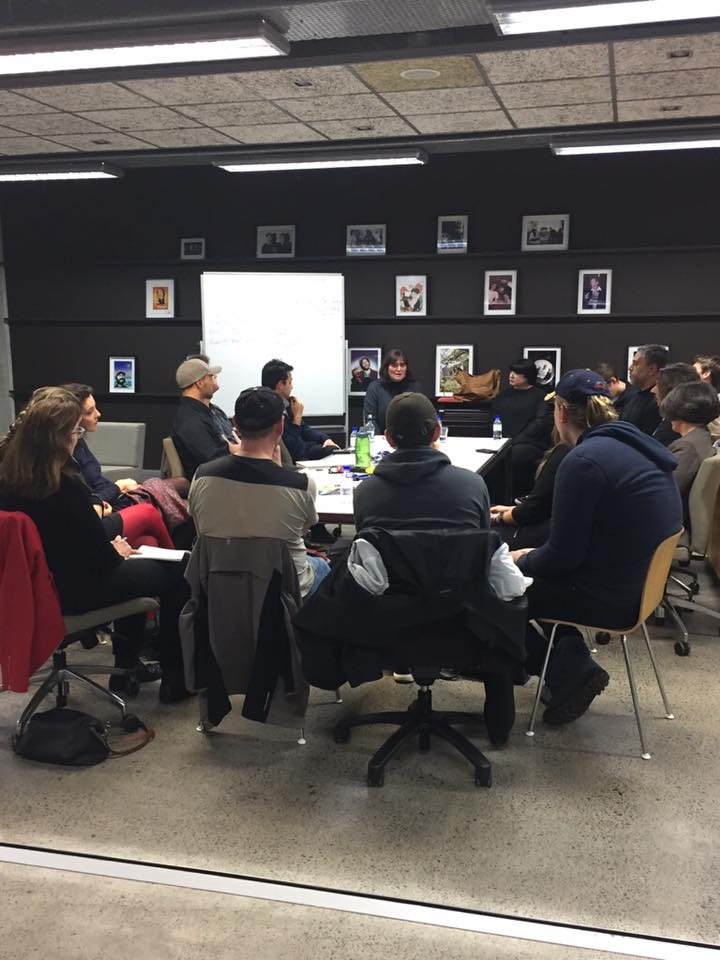 There's no more room at the table! Focus Session in Auckland tonight with Cushla Aston and Wairere Iti