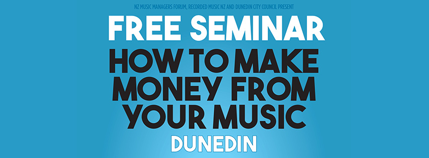 Date: Wed 24 July  Venue: Dunedin City Library - Dunningham Suite  Times: Doors 5.30pm  Seminar 6.00 – 8.00pm