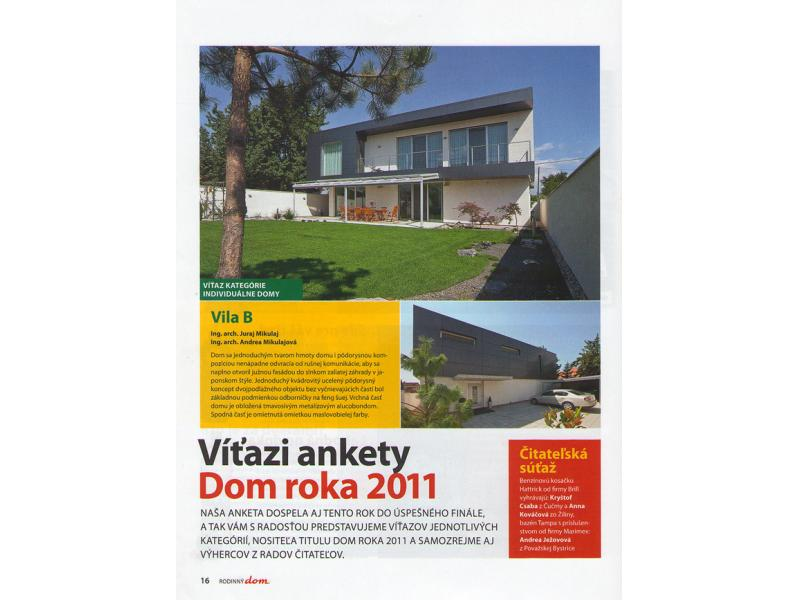 Family house - House of the year 2011