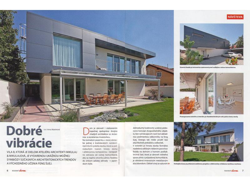 Magazine Rodinný Dom 09/2010