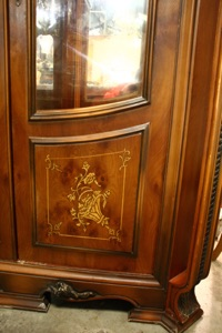 Renaissance Antiques Dublin Ireland FABOULOUS 1970'S DISPLAY CABINET