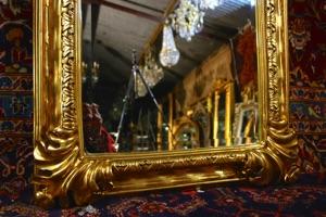 Renaissance Antique Dublin Ireland GILT FULL LENGTH MIRROR
