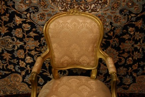 recovered gilt chair renaissance antique dublin ireland