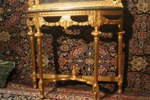 Renaissance Antiques Dublin Ireland HAND CARVED GILT CONSOLE