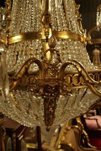 Renaissance Antique Dublin Ireland GREAT QUALITY LARGE CHANDELIER
