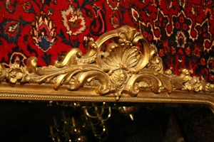 Renaissance Antique Dublin Ireland NICE GILT OVERMANTLE