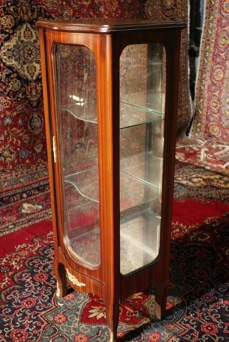 Renaissance Antiques Dublin Ireland HANDMADE GLASS VATRINE