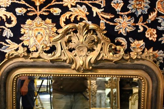 Gilt mirror Renaissance Antique dublin ireland