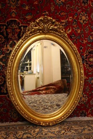 Gilt oval mirrorRenaissance Antique dublin ireland