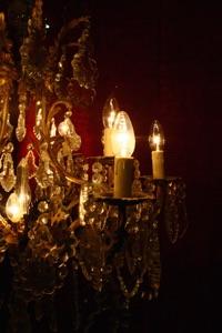Renaissance Antique Dublin Ireland FINE LARGE  CRYSTAL CHANDELIER