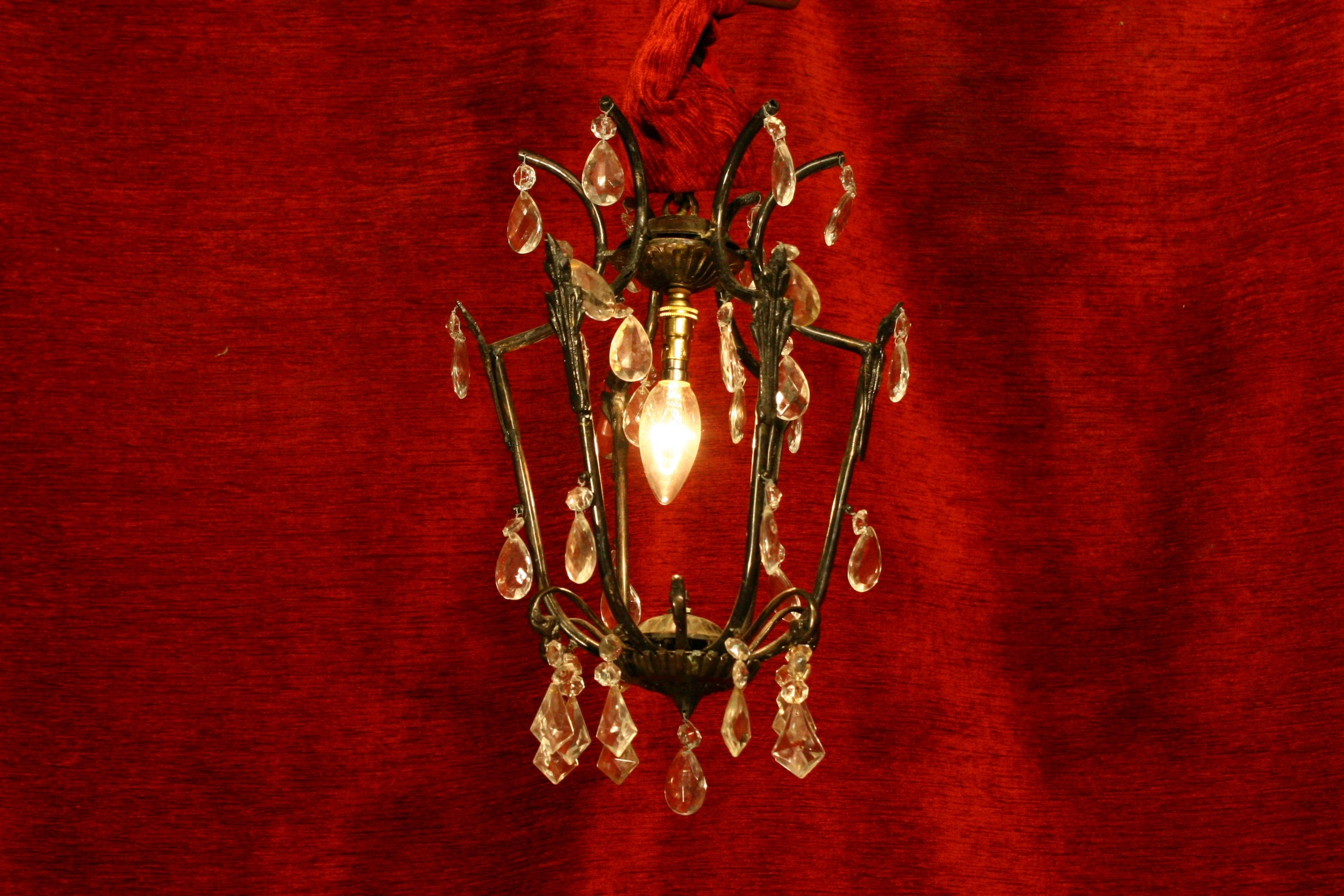 Renaissance Antique Dublin Ireland small CHANDELIER