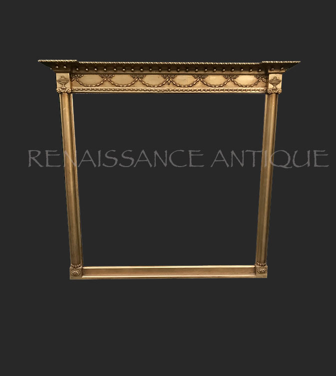 Regency overmantle mirror Renaissance Antique Furniture and Ligh
