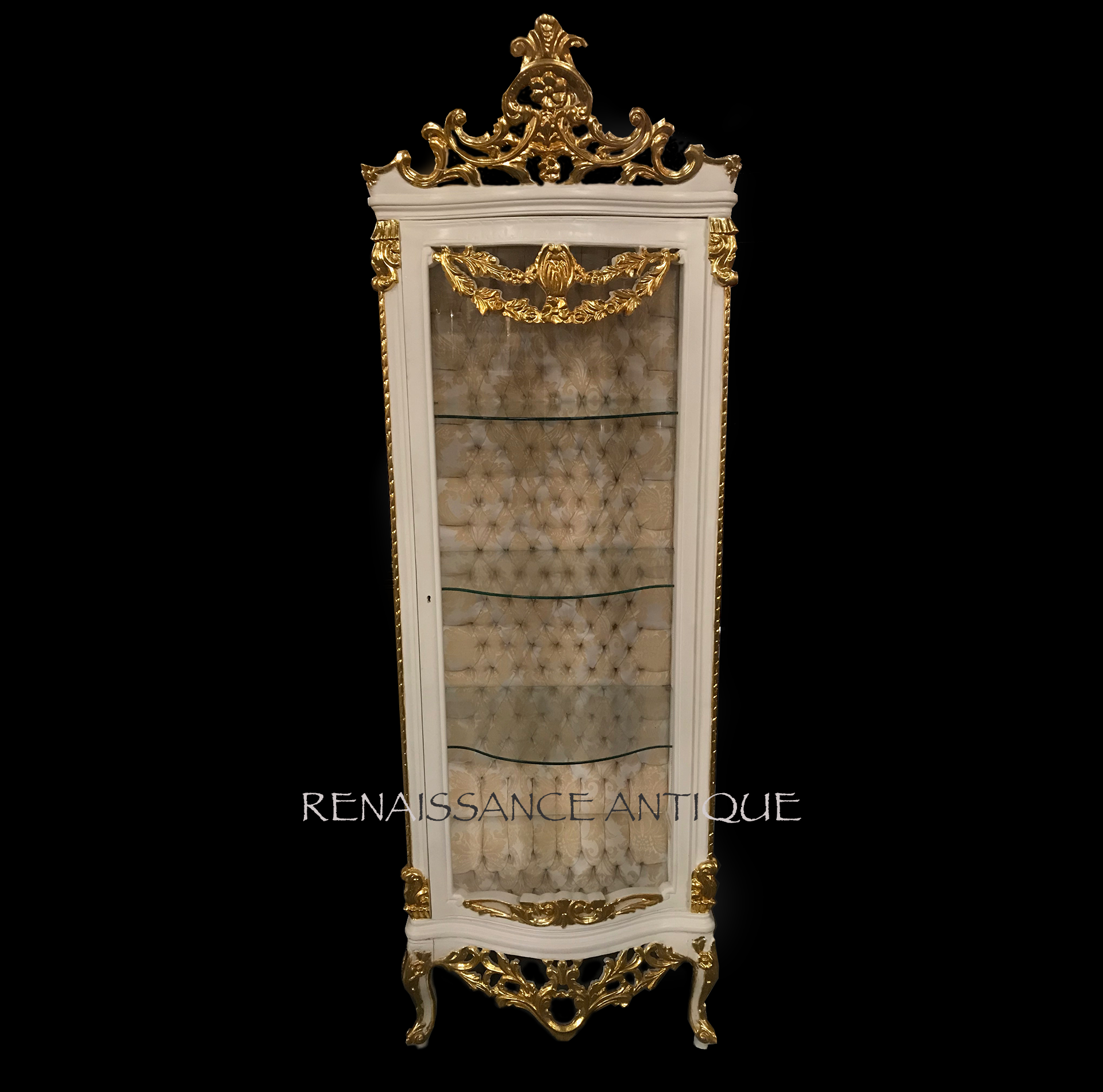 TALL CREAM AND GOLD VITRINE CABINET.png