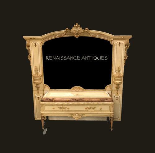 Fantastic carved wood antique style bedroom furniture — RENAISSANCE