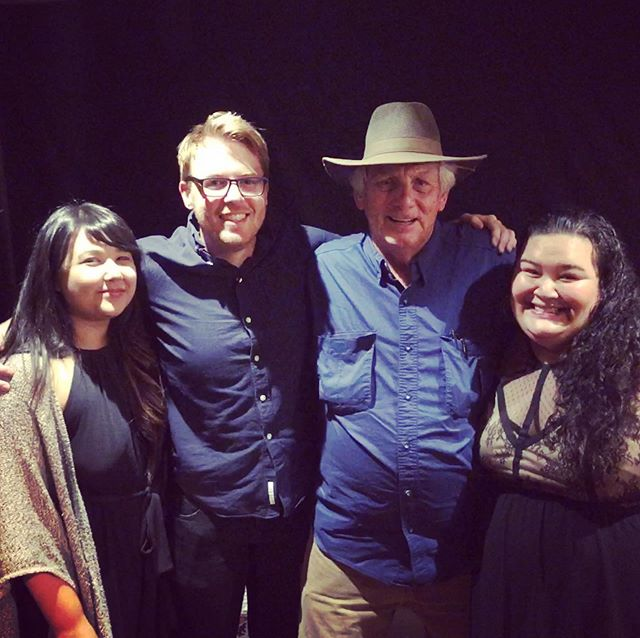 "I hosted two events with Jim Avett on September 19th and 20th and in true Jasmine fashion, I got sick immediately after. 😩🙄 But despite the delay in posting, the magic of those nights has remained with me.  It was really special to get to see what a wonderful teacher Jim is when he hosted a songwriter/guitar workshop for my students and friends (this is only about half the crowd). Seeing them light up and laugh and take notes and be inspired meant the world to me.  Then the next night, getting to open the show for Jim was and is a big damn deal for me. I rarely perform these days, and this was a special treat. Getting to share my music like that, with such a wonderful and supportive audience is something I'll not soon forget. And getting to do it with 2 of my very best friends- Michael Downing aka @themikenike76 and Rachel Schmitz aka @mitzr- I'm nothing short of thankful!  Feedback I got about Jim's wet warms my heart: ""I felt tingly when he sang, and I could listen to him talk and sing for hours"" ""he's a philosopher of song!"" ""He's exactly what I needed to hear to connect with what's important""... and I agree with it all. Feedback I got from my own set was overwhelmingly positive and I'm still not completely comfortable with all the compliments- but extremely humbled by and thankful for them!  If you ever have the opportunity to see Jim Avett live, do it. Visit his website jimavett.com to see upcoming dates or to request that he play your town!  Thanks everyone. #SayLove"