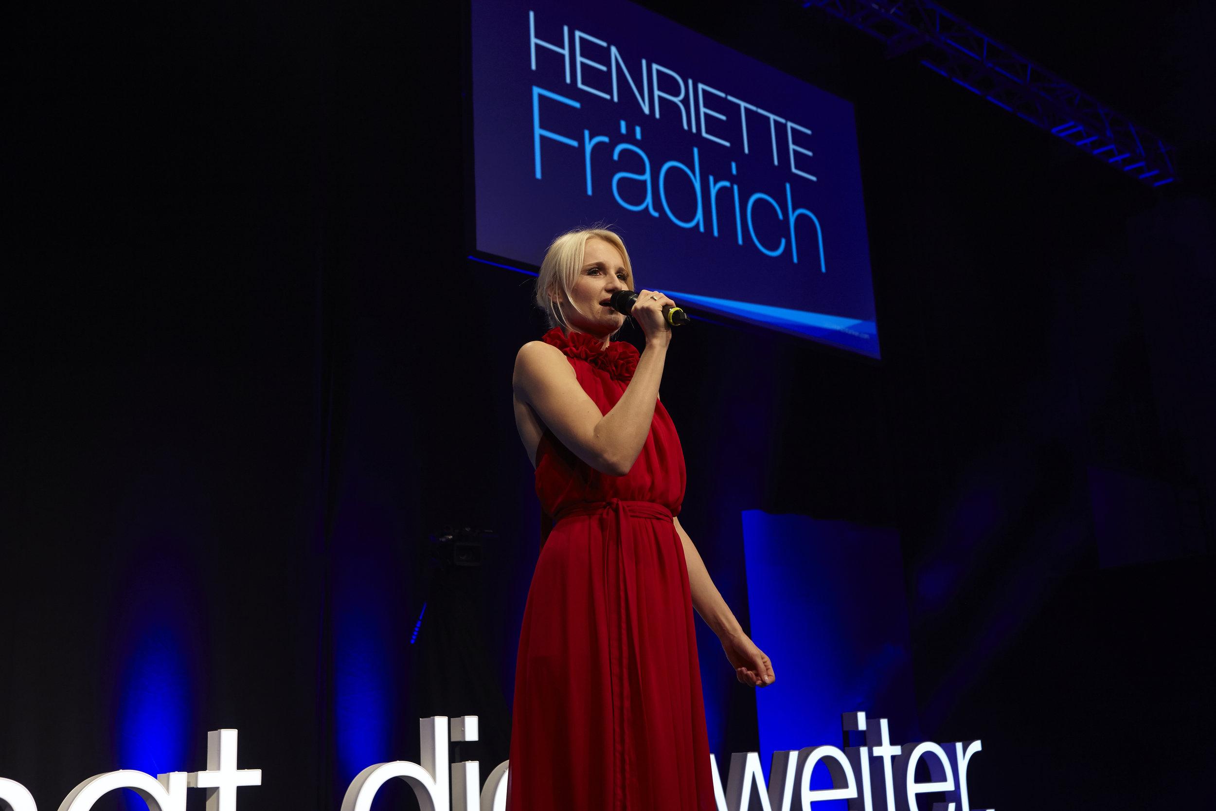 Henriette Frädrich Moderation