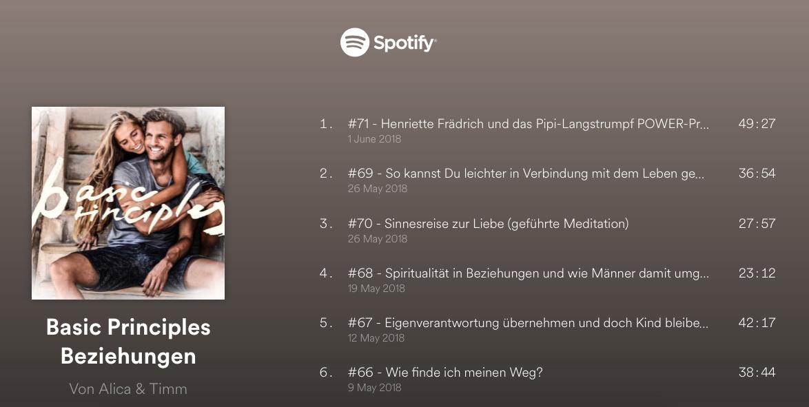 Podcast Alica Büchel