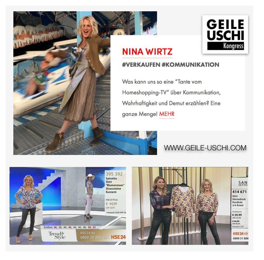 Nina Wirtz Geile Uschi Kongress