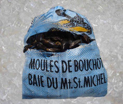 Mejillones de Bouchots