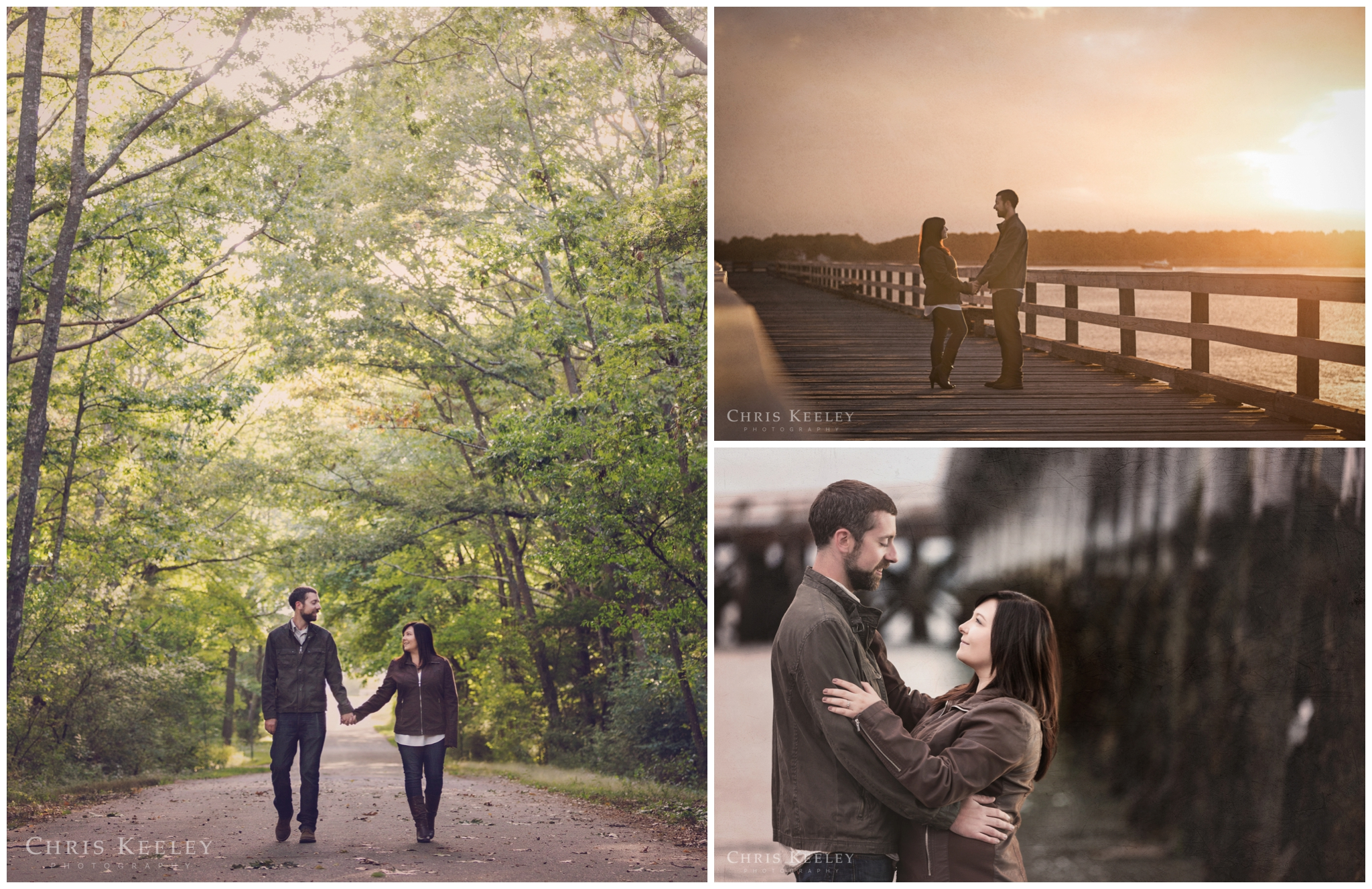 Fort Foster in Kittery, Maine is a great location for coastal engagement pictures.