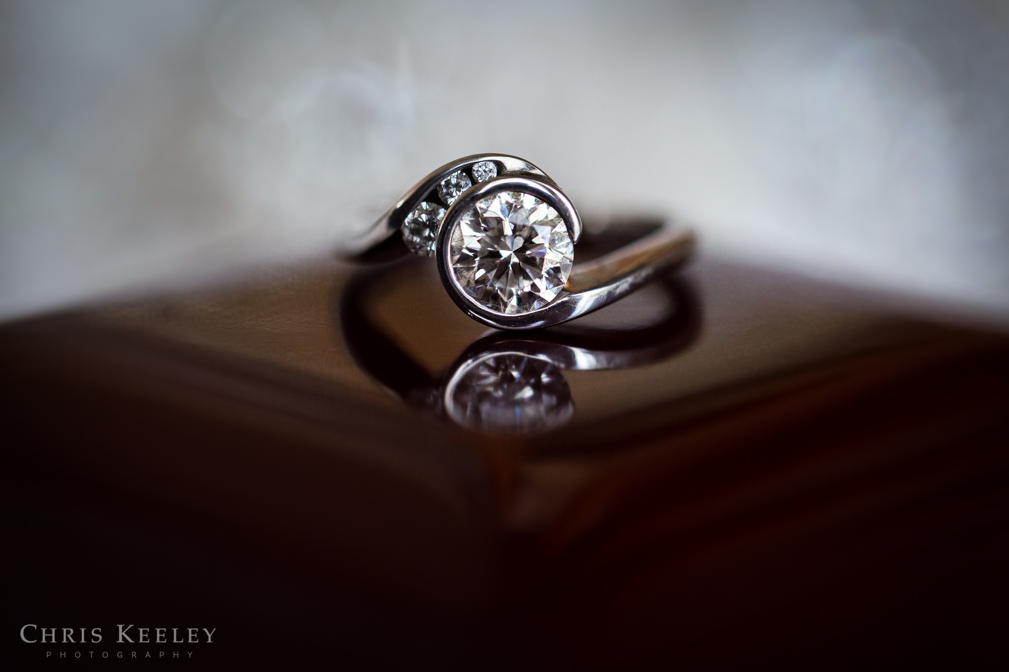 This is the ring my now-wife wears. I knew it was the one the instant that I saw it. Thank you, Deb, couldn't have found it without your help.
