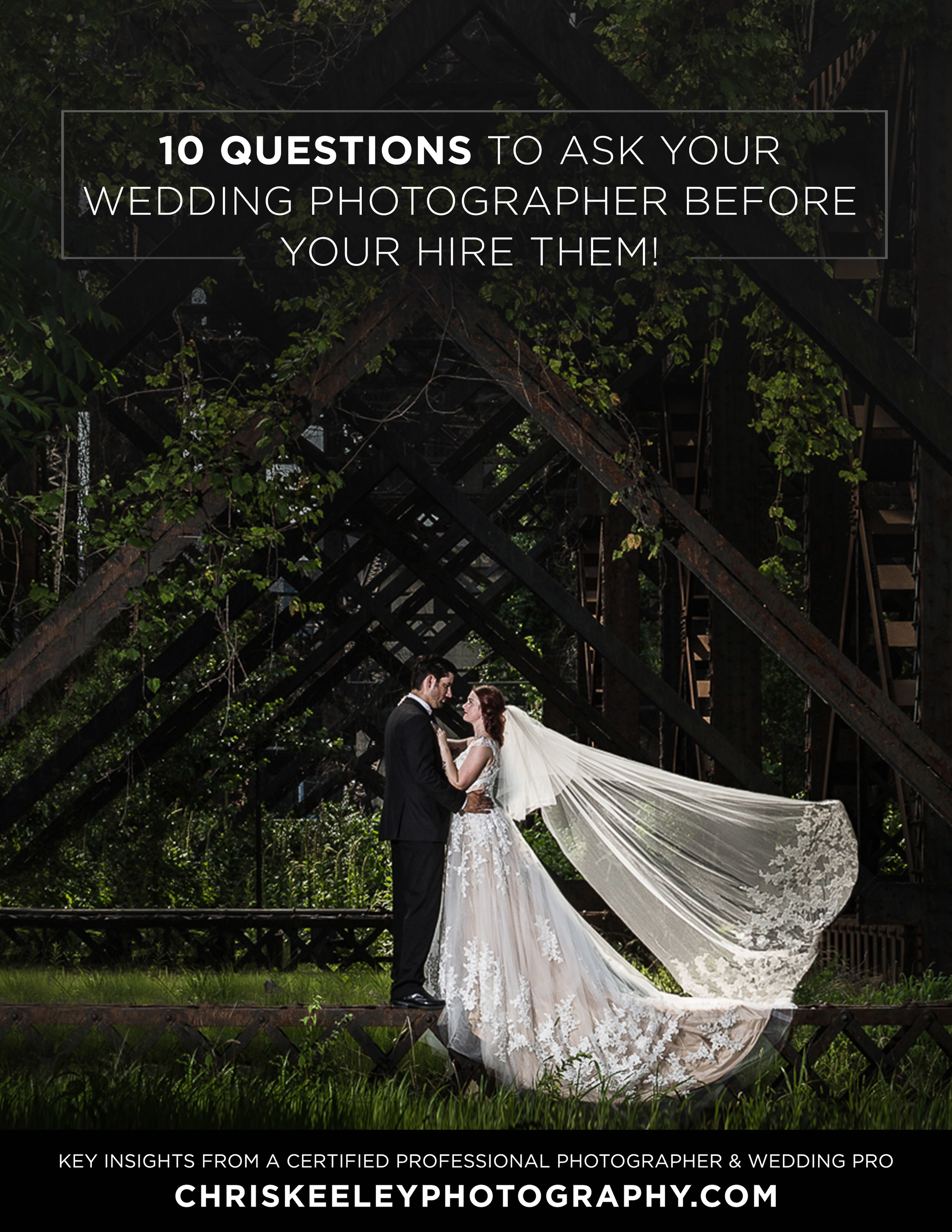 10 Questions To Ask Your Wedding Photographer Before You Hire Them