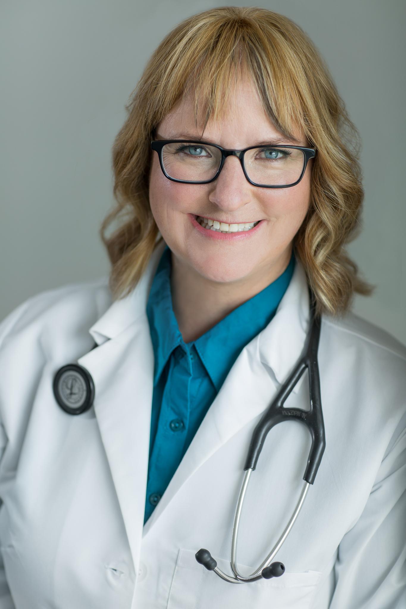 A healthcare professional headshot
