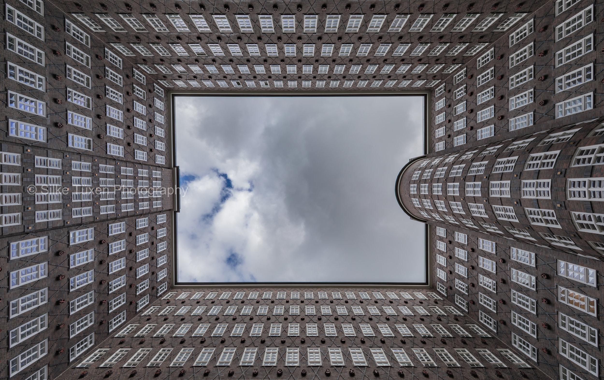 Old office building - Kontorhaus, Hamburg