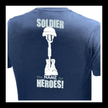 JT Cooper Navy Soldier HEROES Shirt Small - 3X