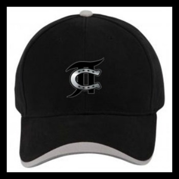 JT Cooper Black Branding Hat  One Size Fits All