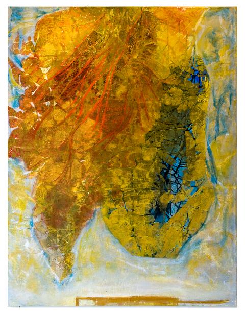 Allegro                                             oil  on canvas 90  X70cm