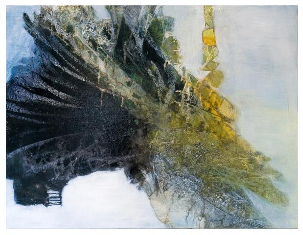 Decrescendo                                                             oil  on canvas 90  X70cm