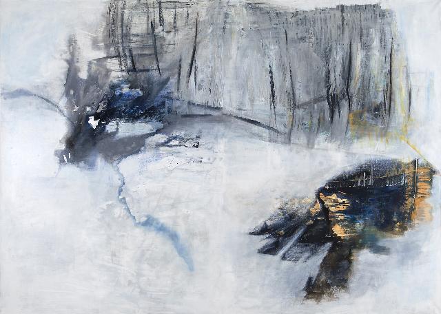 Departures                                                                 oil  on canvas 200  X280cm