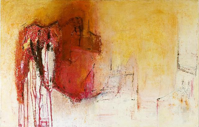 Omen                                                                      oil  on canvas 140  X200cm