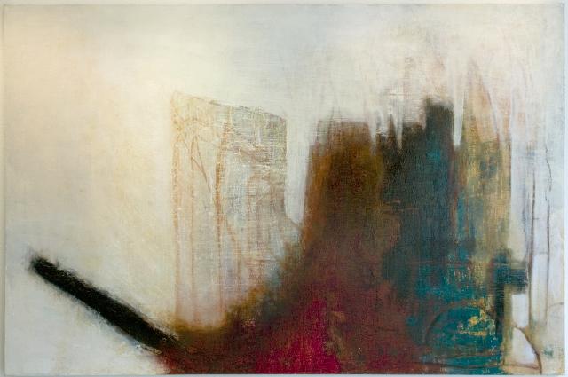 Battaglia                                                                  oil  on canvas 1400  X200cm