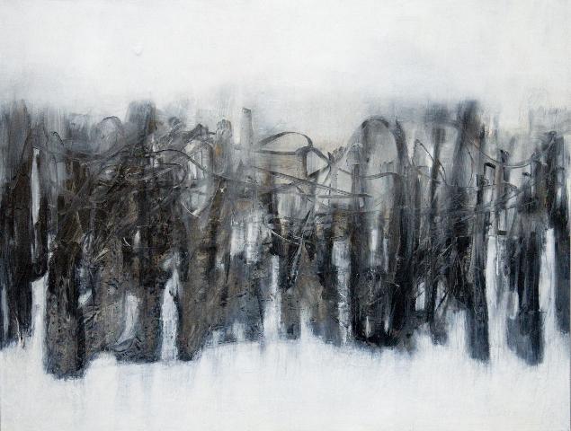 Rondo                                                                      oil  on canvas 70  X100cm