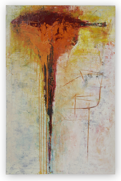 confluence                           oil in canvas 200X140cm