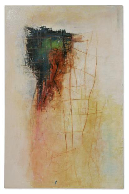 Illusion                               oil in canvas 200X140cm