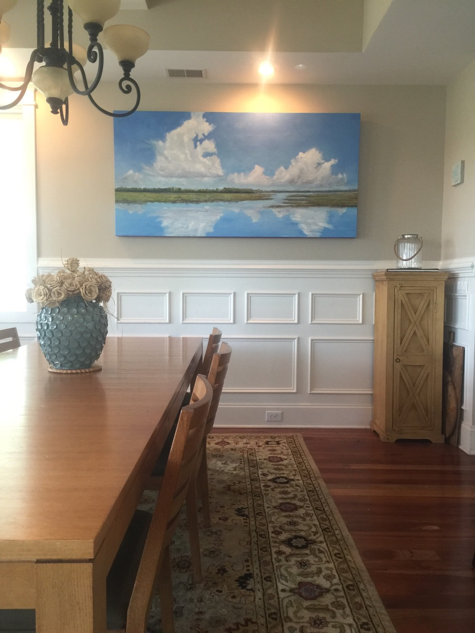 """Large format Gallery Wrapped Canvas at 36"""" x 72"""" x 3""""  Private Collection"""