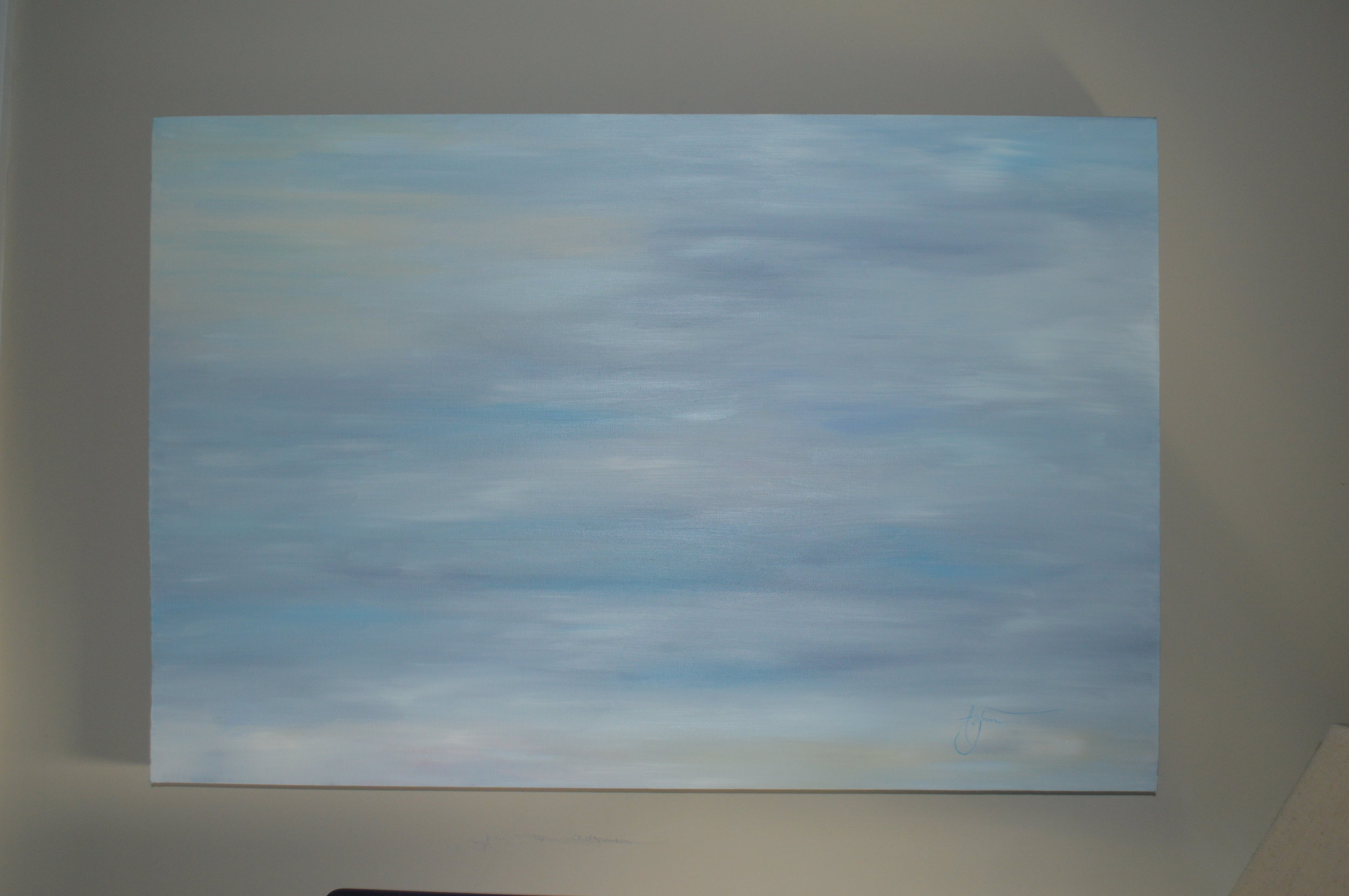 """36 x 24 x 3.5"""" Gallery Wrapped Original Oil Painting $650"""