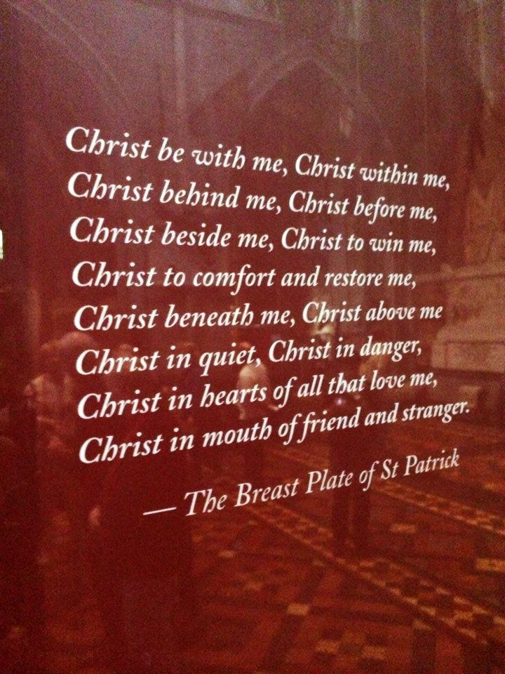 In Saint Patrick's Cathedral, Dublin, Ireland.
