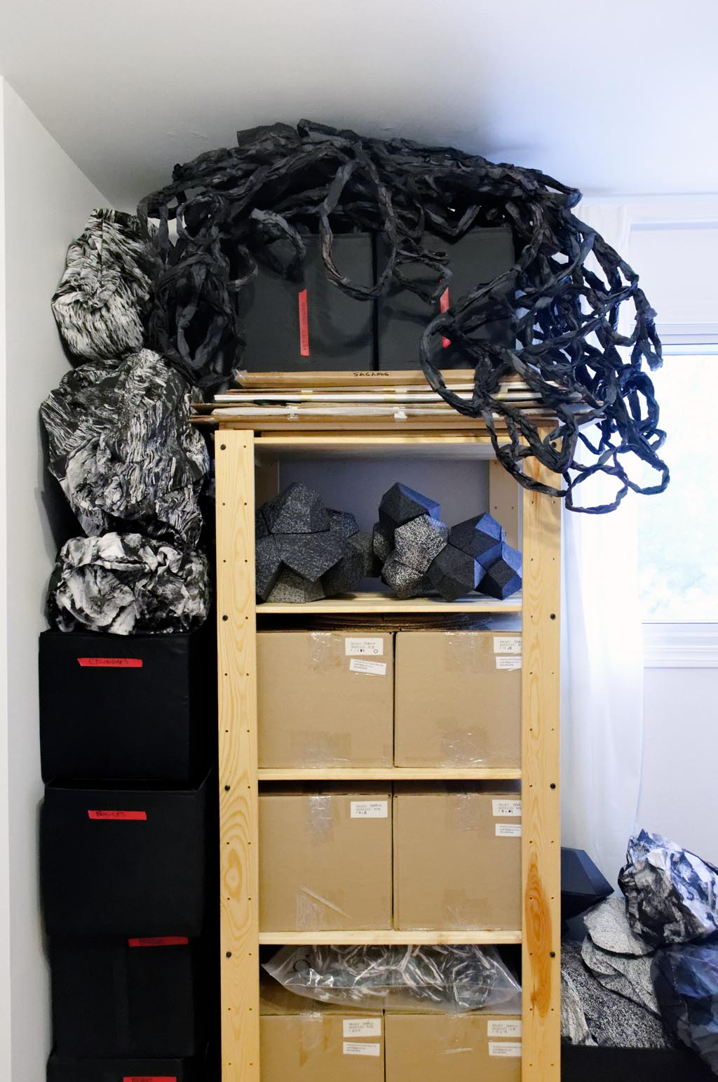 Piratage de maison (chambre atelier)