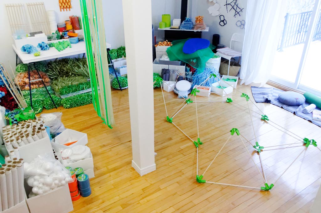 Structure modulaire (jardin)