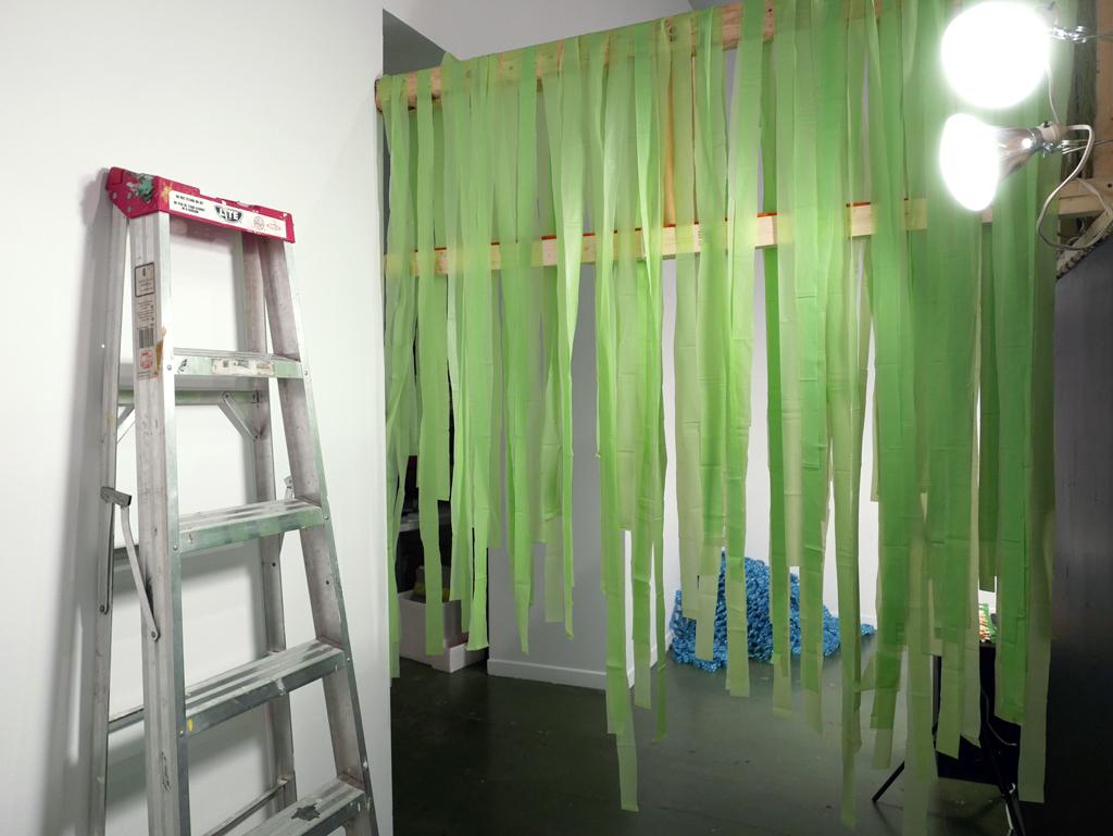 Mur de froufrous pour les employés!