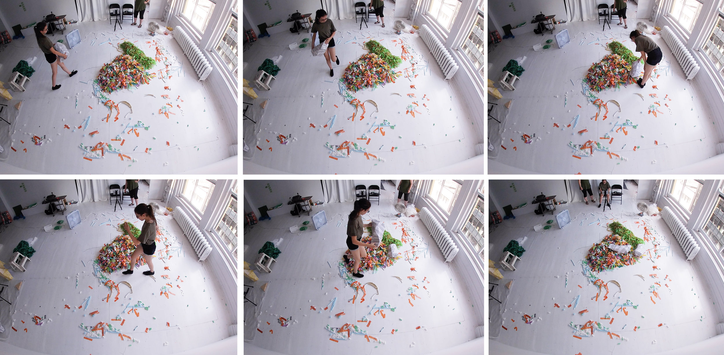 Images issues d'une captation vidéo avec une Gopro.