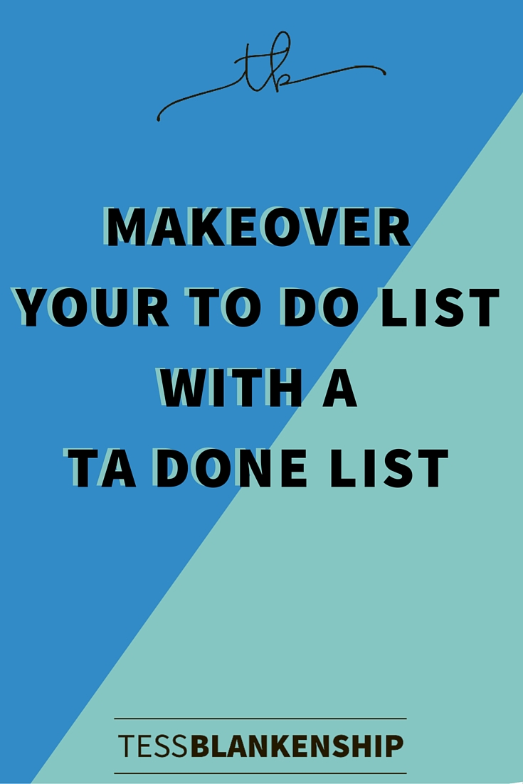 How to get more things from your To-Do list checked off.