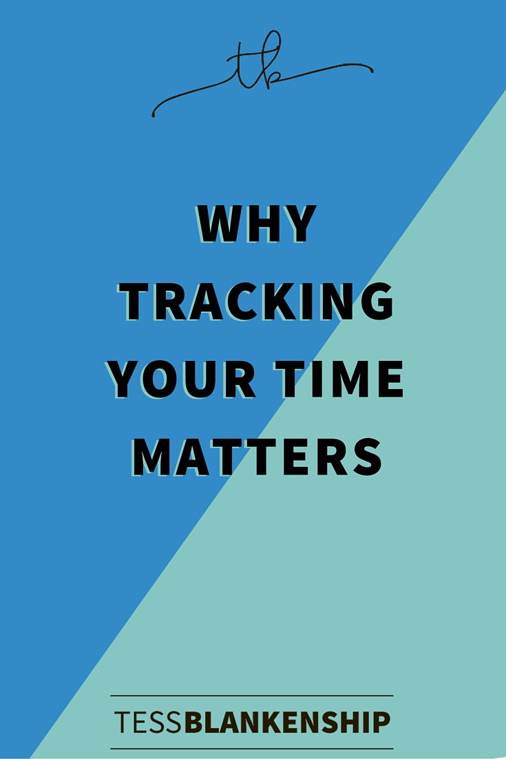 Why tracking your time really matters for your bottom line.