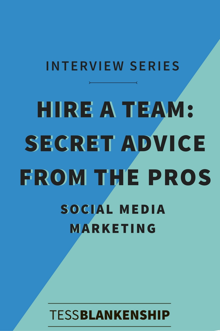 Learn how to outsource your social media with this advice from a social media marketing pro.